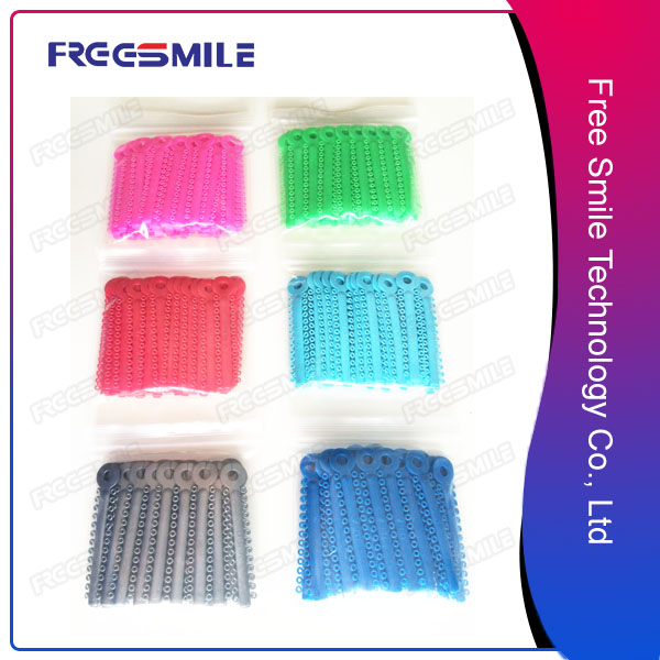Ligature Ties for Orthodontist with 48 colors