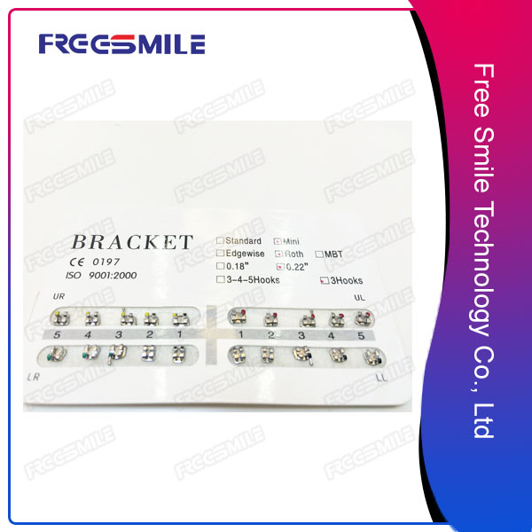 Metal Bondable Orthodontic Brackets